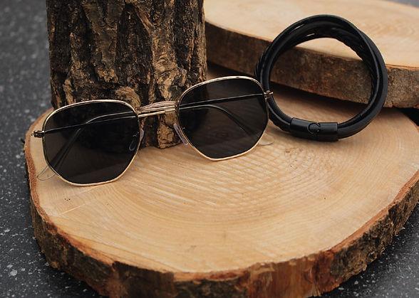 Herfst Collectie Asories Zonnebril + Armband