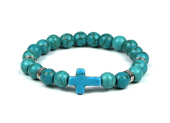 Cross Blue Turquoise
