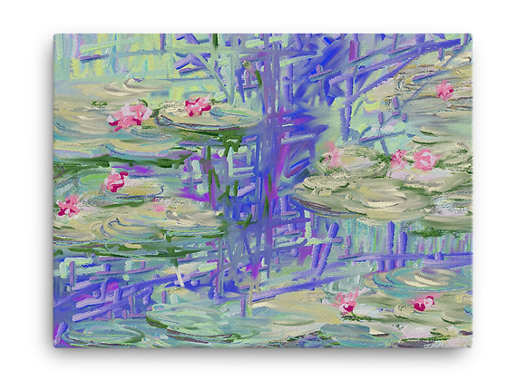 """Water Lily"" 00.7 Canvas"