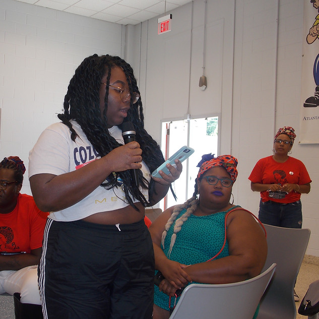Town Hall to END the Incarceration of Women and Girls, July 21, 2018