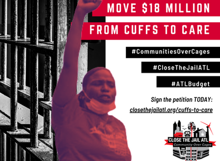 SIGN OUR PETITION NOW to move $18 million from cuffs to care!