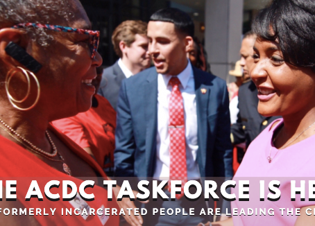 Black Formerly-Incarcerated Women, Queer, & Trans Folks Appointed to Design Taskforce
