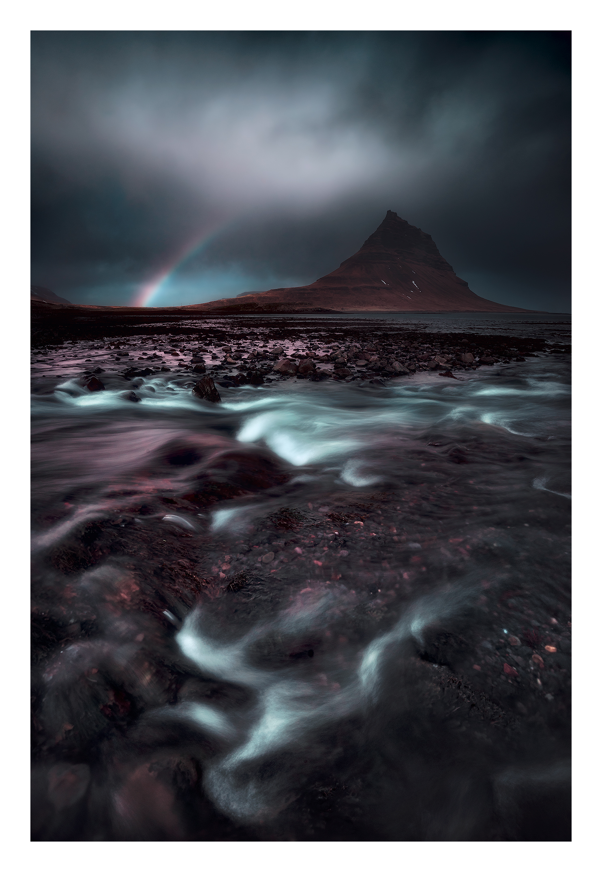 River and Mountain - Dark B