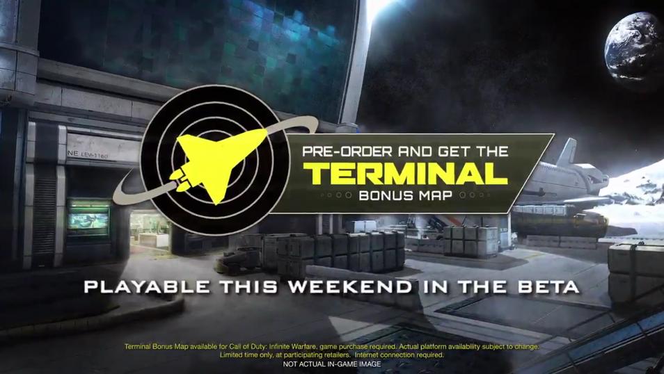 Terminal Logo | Game: CALL OF DUTY (INFINITE WARFARE)