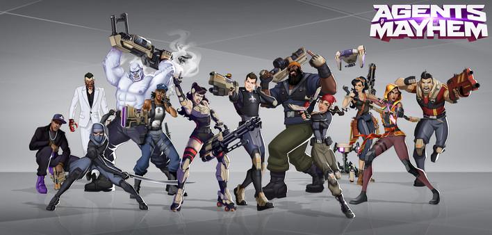 Illustration   Game: Agents of Mayhem 2017