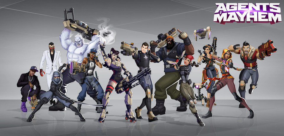 Illustration | Game: Agents of Mayhem 2017