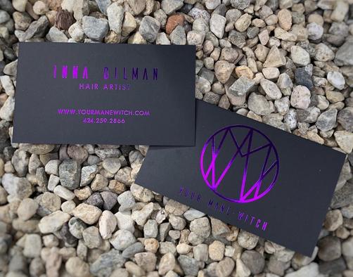 Logo Design   Hair/MUA: Your Mane Witch