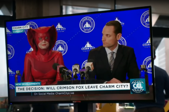 Lead Fabricator (Character: Crimson Fox | Show: Powerless)
