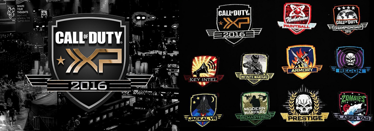 Patch Designs | Game: CALL OF DUTY XP 2016
