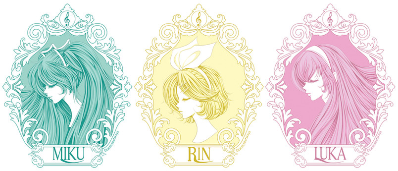 Illustration   Series: HATSUNE MIKU