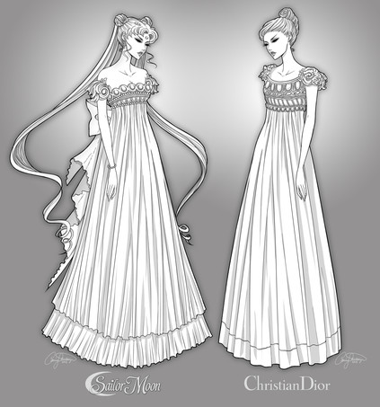 Fashion Illustration for Sew News Magazine