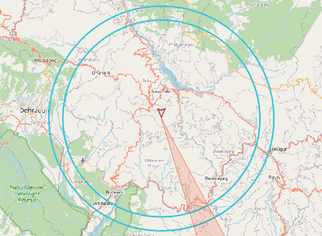 EARTHQUAKE DETECTED - Uttarakhand, India