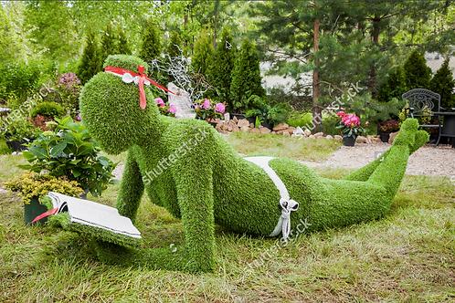 Garden sculpture 1, Minsk. Belarus