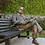Thumbnail: Statue 2 on park bench, Toronto, Canada