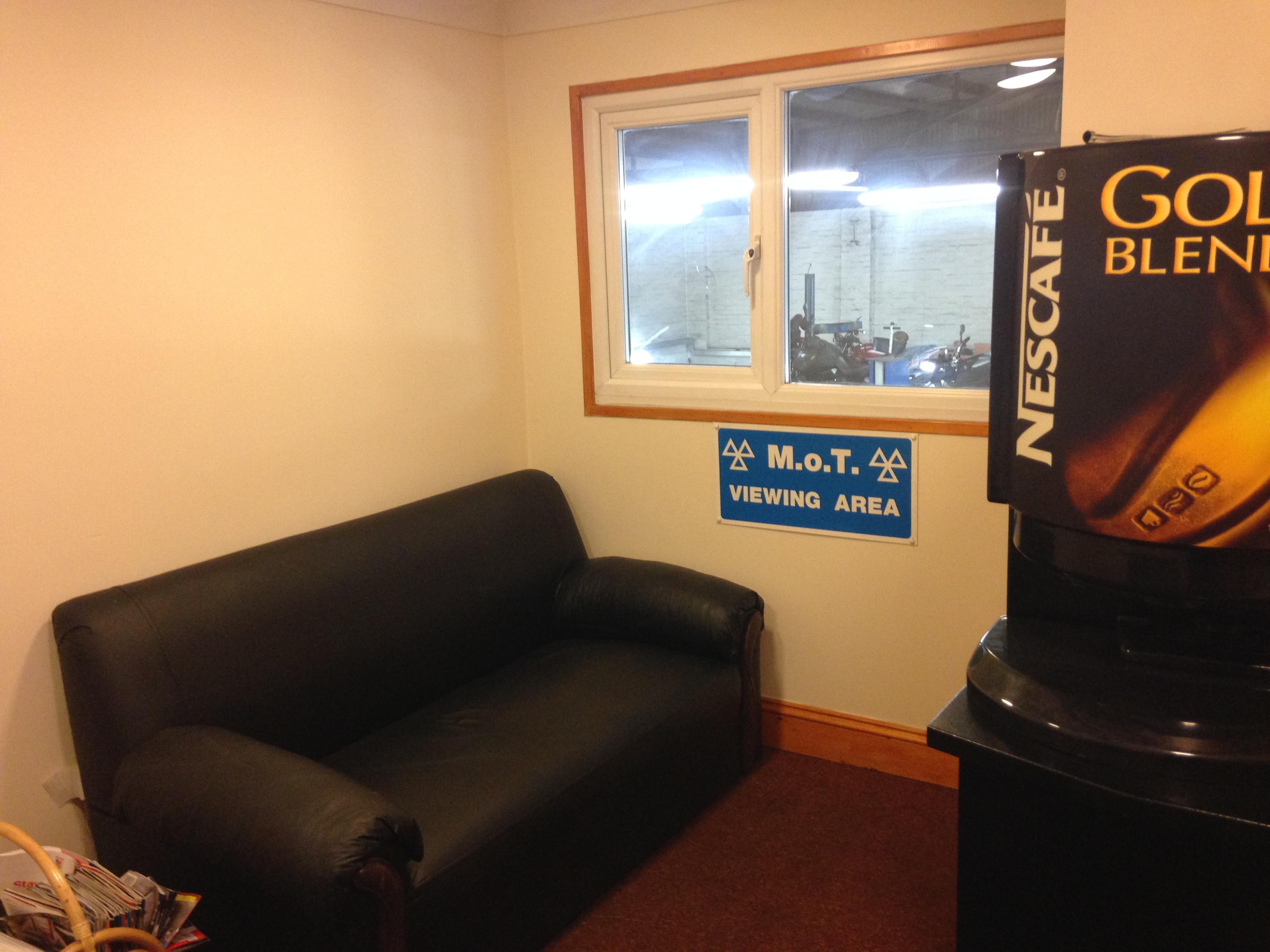 Paradise Garage Waiting Room