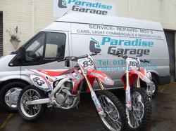Paradise Garage Motocross bikes.jpg