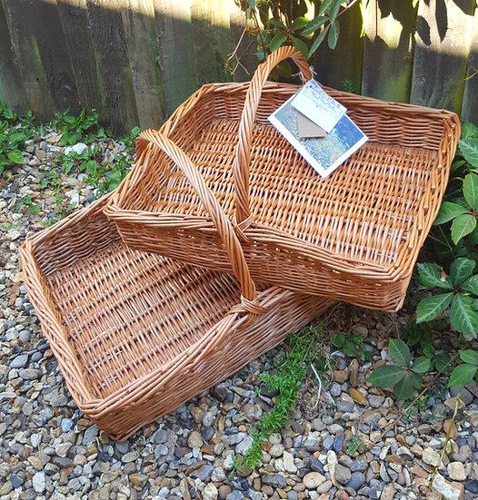 Large tray basket