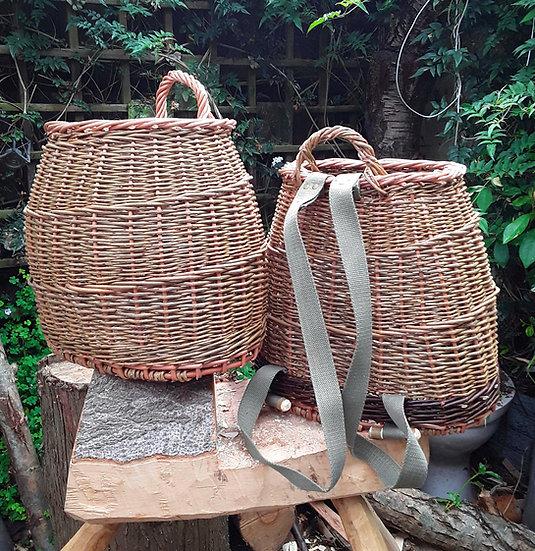 Basket backpack
