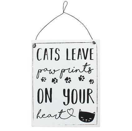 Cats Hanging Sign