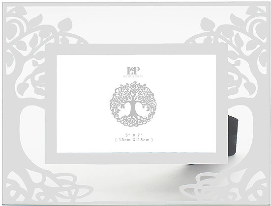 Silver Tree Photo Frame 26cm