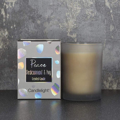 Peace Redcurrant & Ivy Scented Candle
