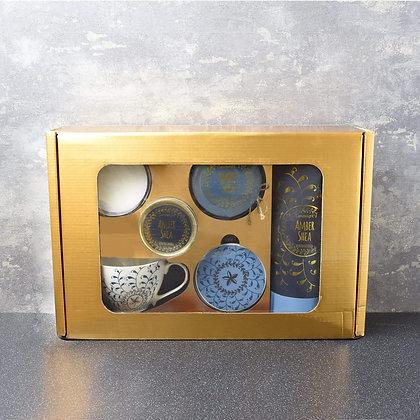 Bohemian Blue Amber Shea Gift Set