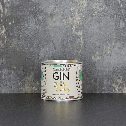 Gin is Liquid Sanity Tin Candle
