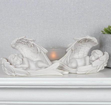 Cherub Sleeping in Wings