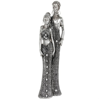 Silver Masai Couple