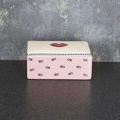 Lips Trinket box with Lid