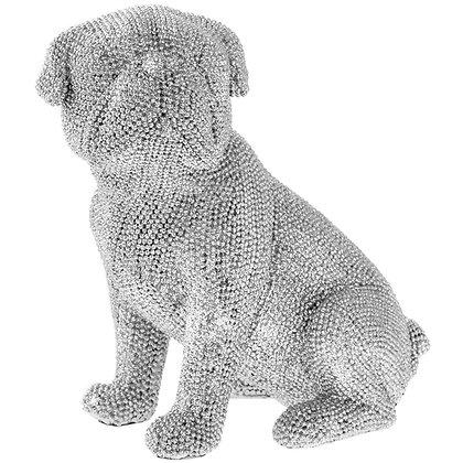 Diamante Sitting Pug