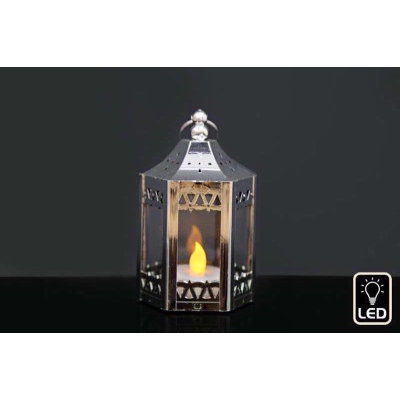 Small Lantern with LED candle