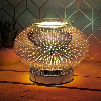 Starburst Round Orb Lamp & Oil Burner