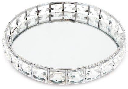 Jewelled Mirror Tray