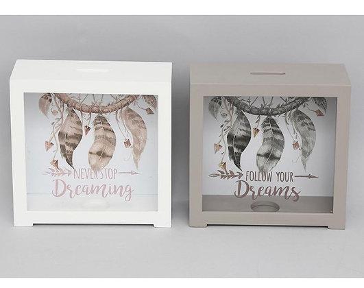 Dreamcatcher Money Box