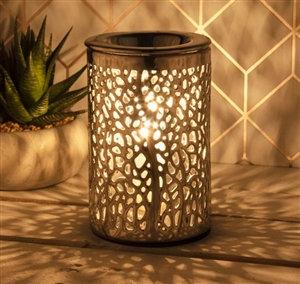 Silver Aroma Lamp (Tree design)