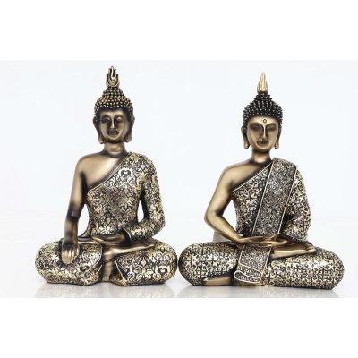 Antique Gold Buddha