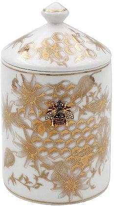 Golden Bees Fragranced Candle Jar