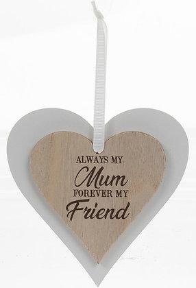 Mum Sentiments Hanging Plaque