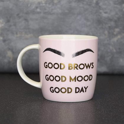 Good Brows Ceramic Mug