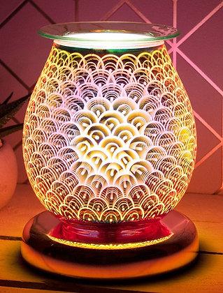 Rose Gold Orb Lamp & Oil Burner