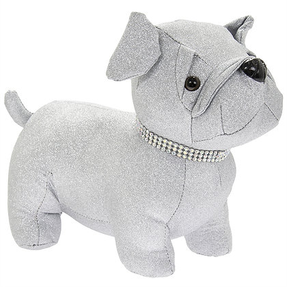 Plush Pug Doorstop