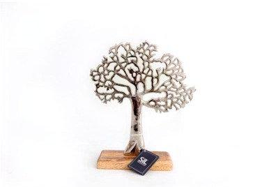 Silver Tree Sculpture
