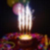 Velas de cumpleaños en Santiago