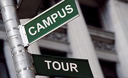 university tour