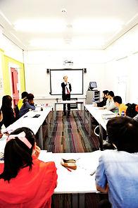 INTO Queens University Belfast classroom