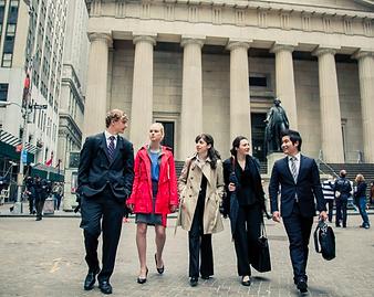 Internship at Wall Street