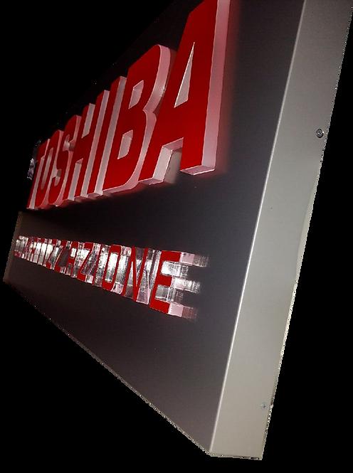 Insegna da Esterno Toshiba 250x80 cm