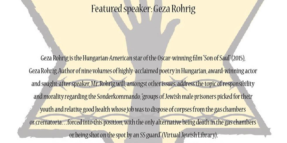 Yom Hoshoah Holocaust Memorial Program