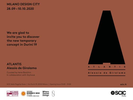 SCIC | @ MILANO DESIGN CITY 2020
